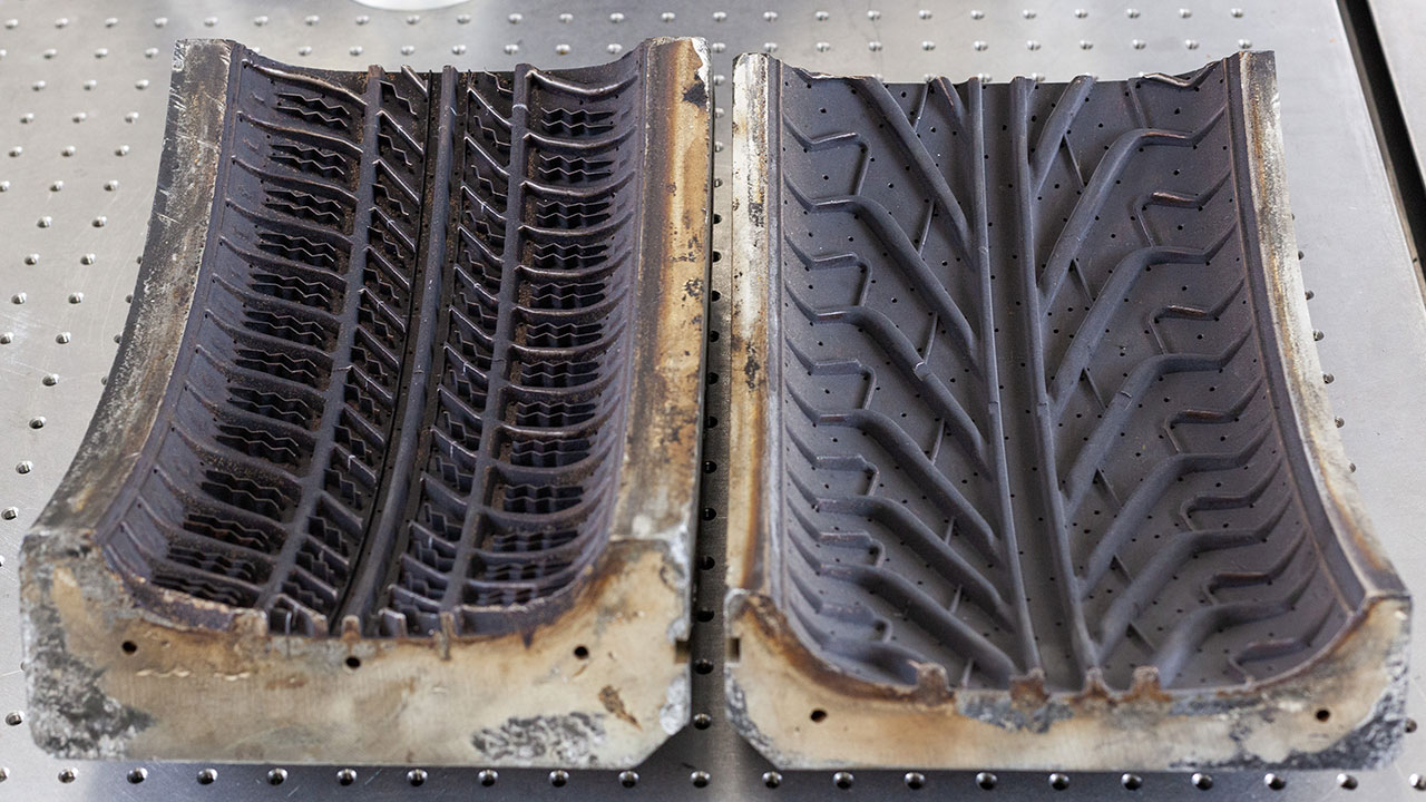 How laser cleaning is becoming the preferred choice for tyre moulds